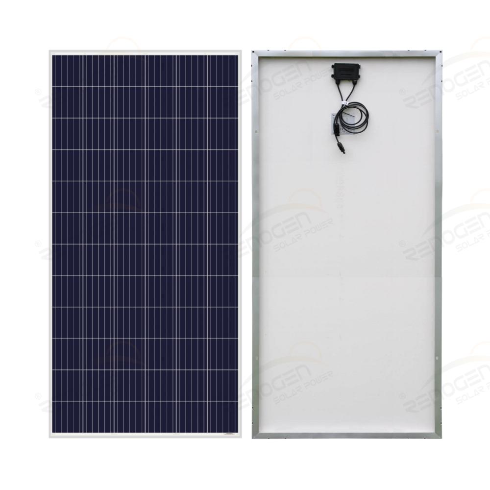 340w 72cells Poly Solar Panel Renogen Power
